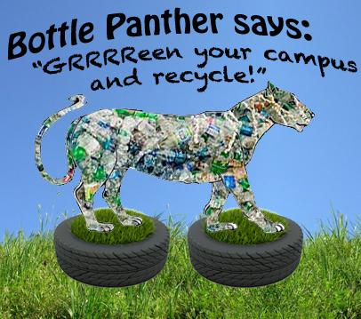 bottle panther says GRRReen