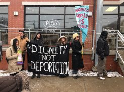 Dignity Not Deportation. Photo by Jacob Searles