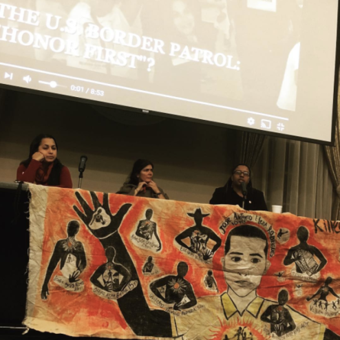 Panel on Police and Border Patrol Brutality, photo by Etta Cetera